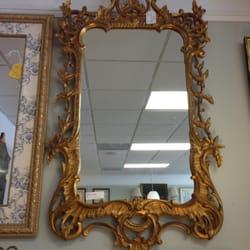 photo of cents and sensibility savannah ga united states gold leaf mirror
