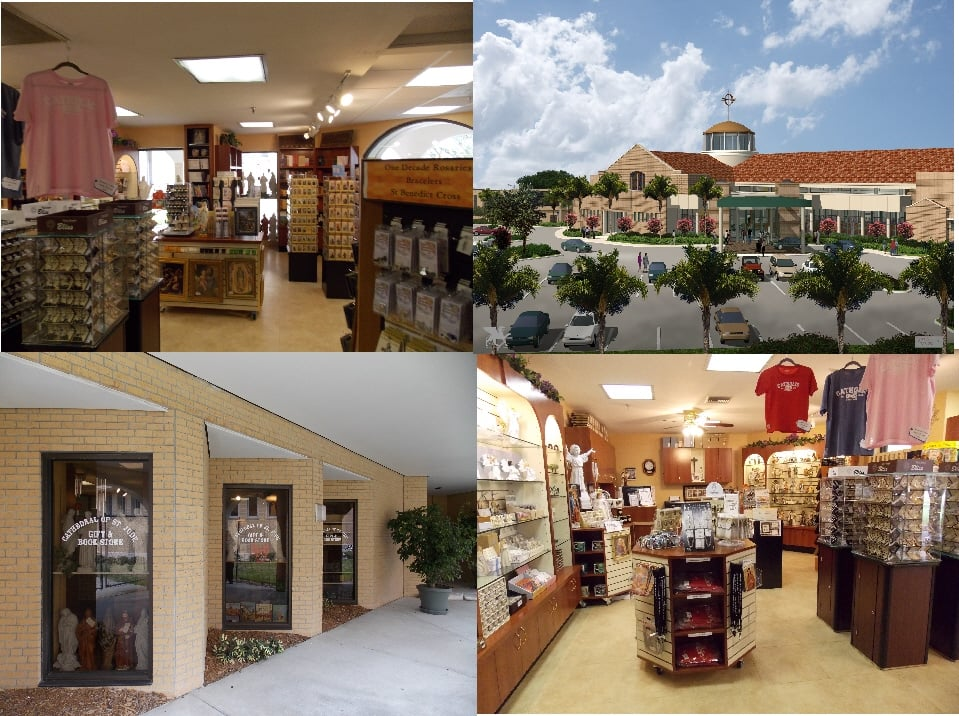 The Cathedral of Saint Jude Gift & Book Store: 5815 5th Ave N, Saint Petersburg, FL