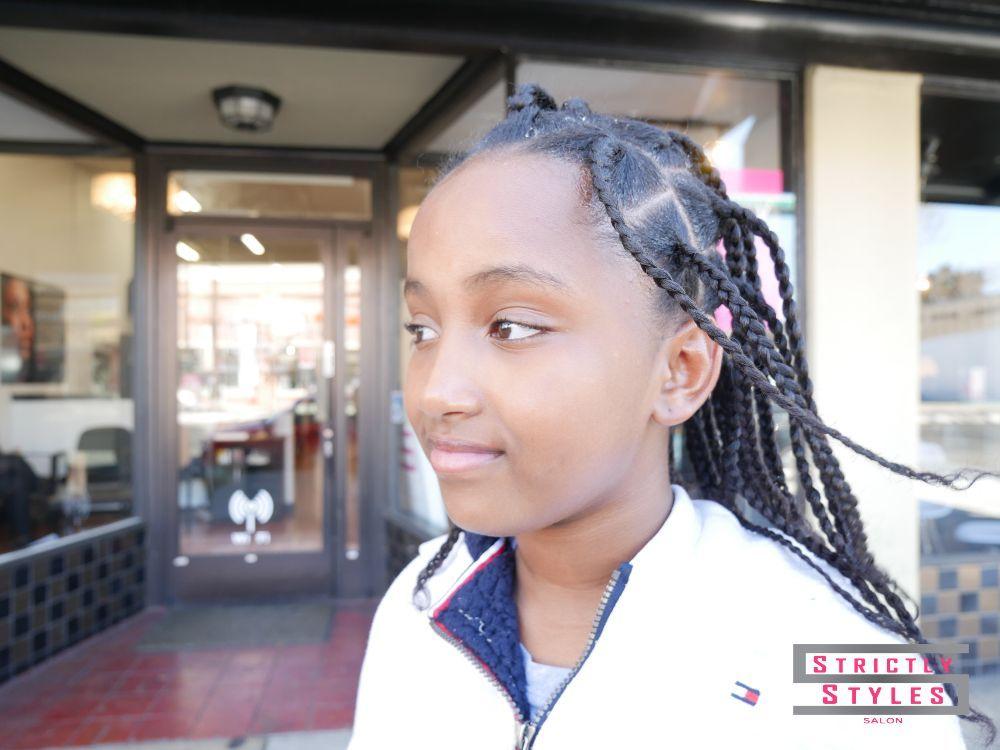 Braids On Natural Hair No Extensions Hair Salon In San Jose Yelp