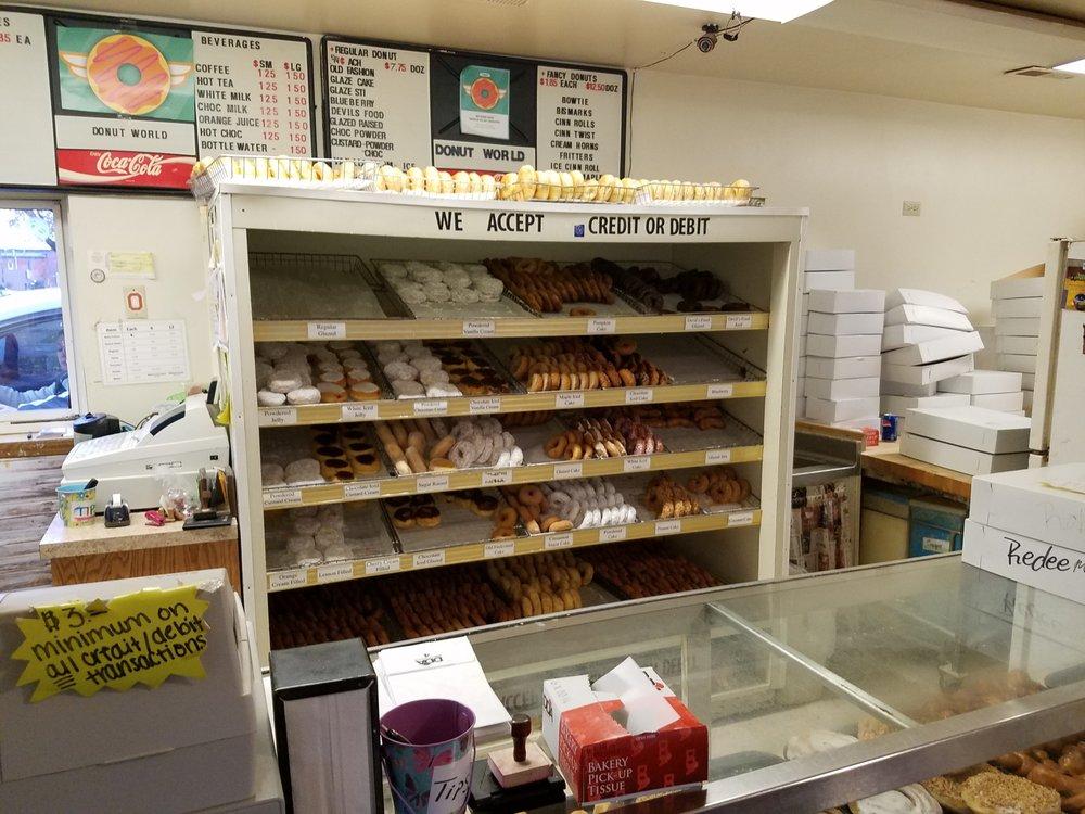 Donut World Co: 601 N Broad St, Lancaster, OH