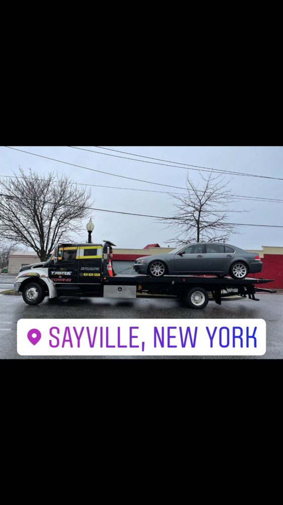 Towing business in Bayport, NY