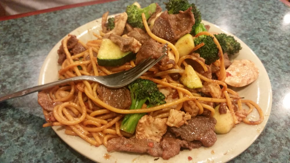Mongolian wok right inside the buffet!! - Yelp