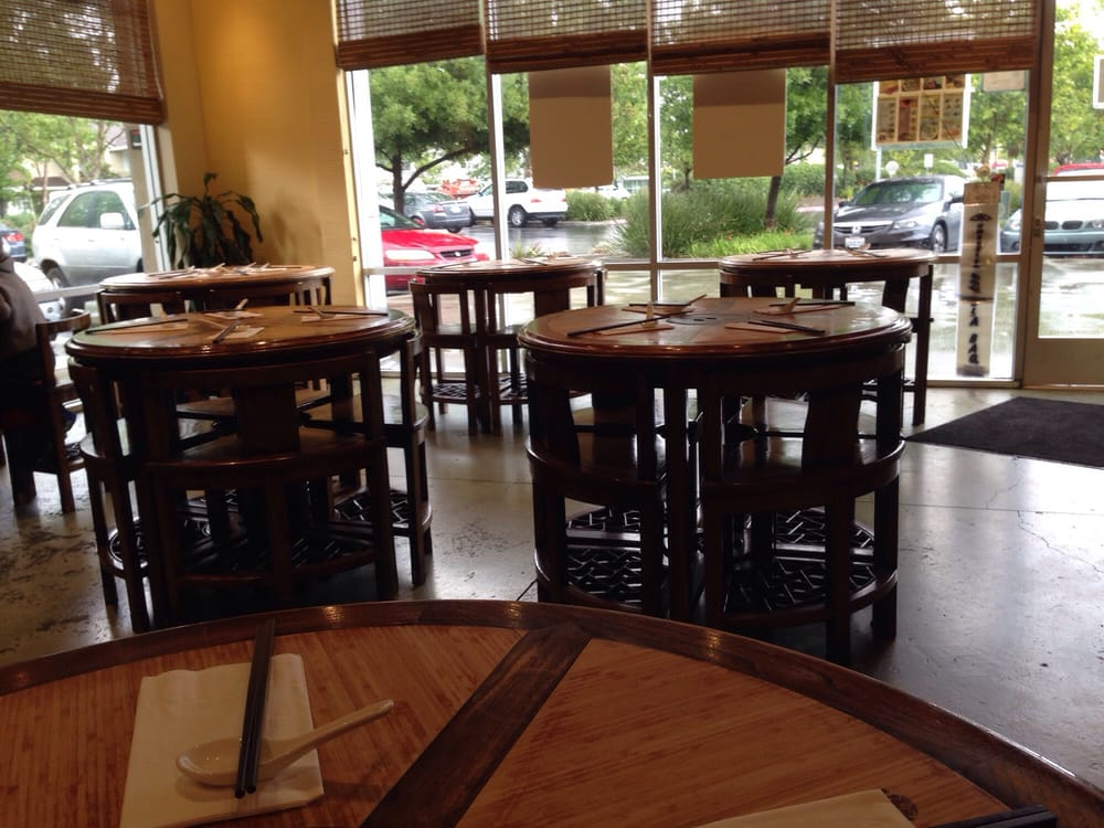 Inside looking out yelp for Koi palace express