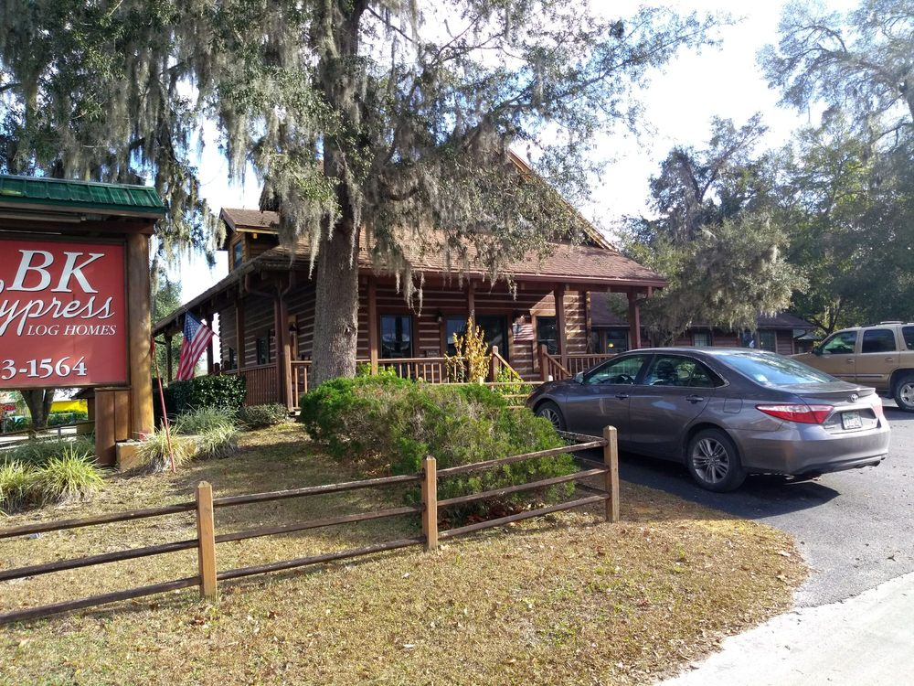 Bk Cypress Log Homes: 609 Gilbert St, Bronson, FL