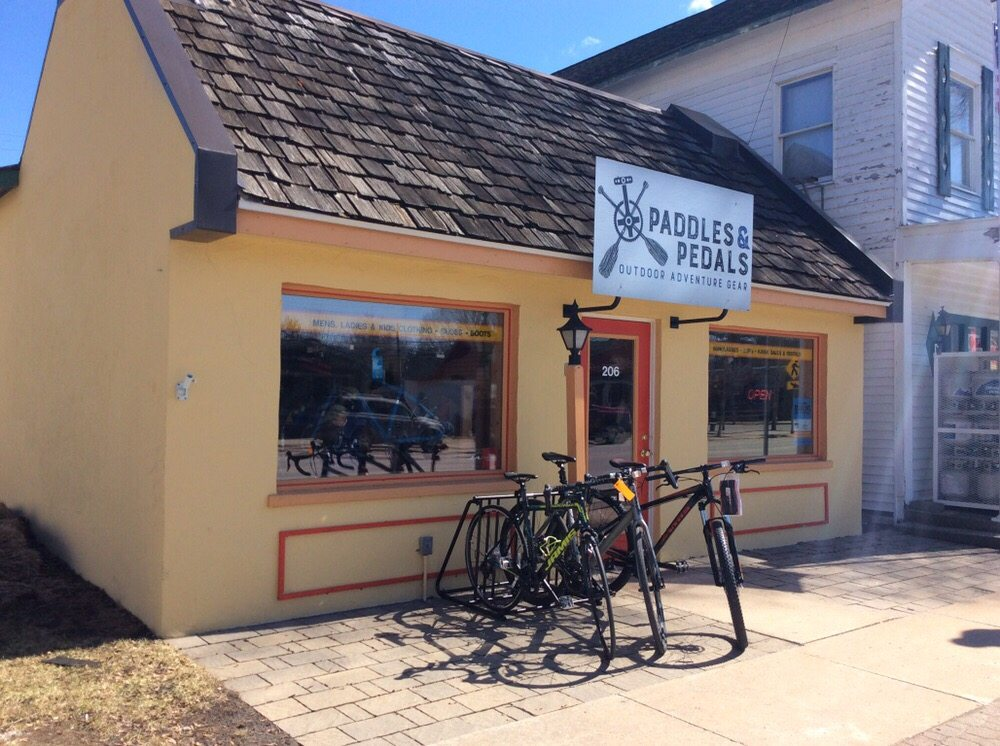 Paddles & Pedals: 206 N Bridge St, Bellaire, MI