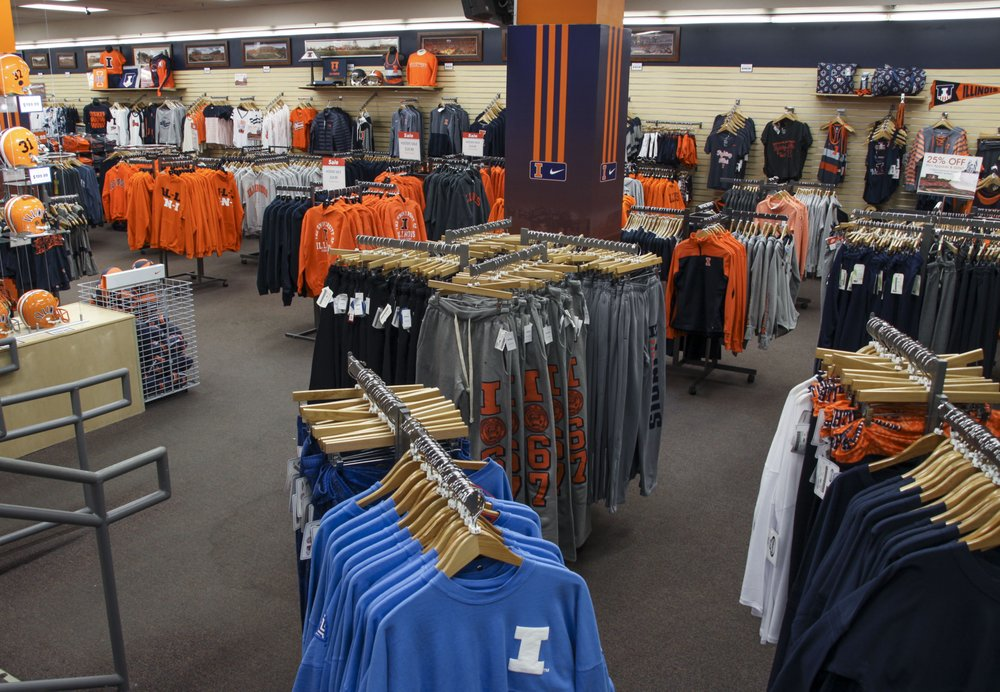 The Illini Shop: 707 S 6th St, Champaign, IL