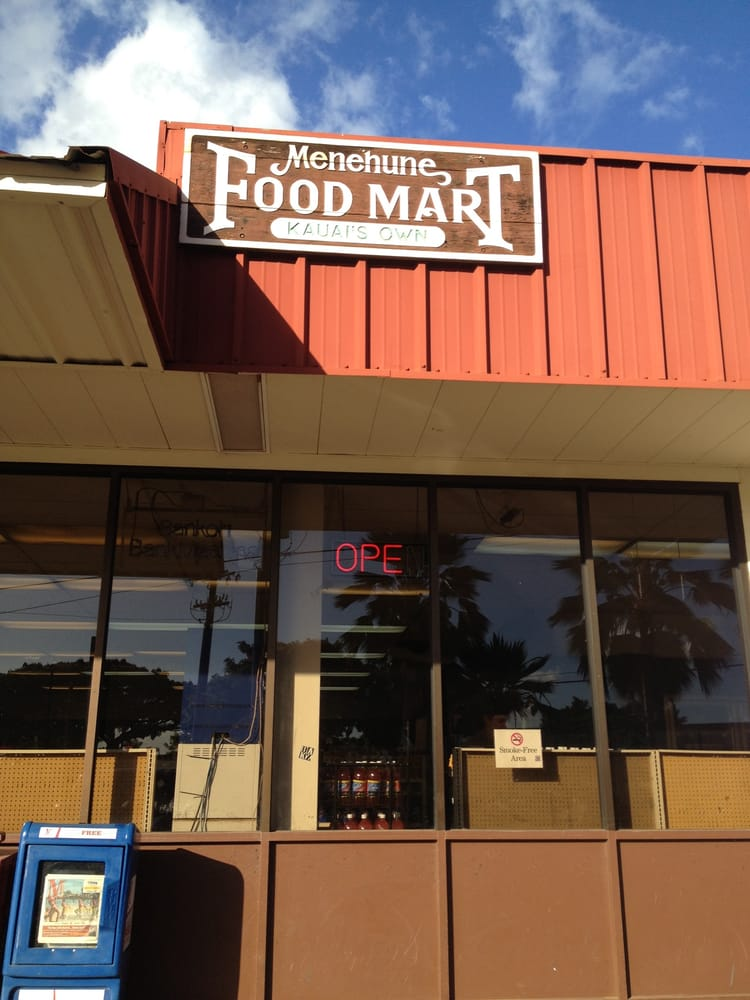 Menehune Food Mart: 8171 Kekaha Rd, Kekaha, HI
