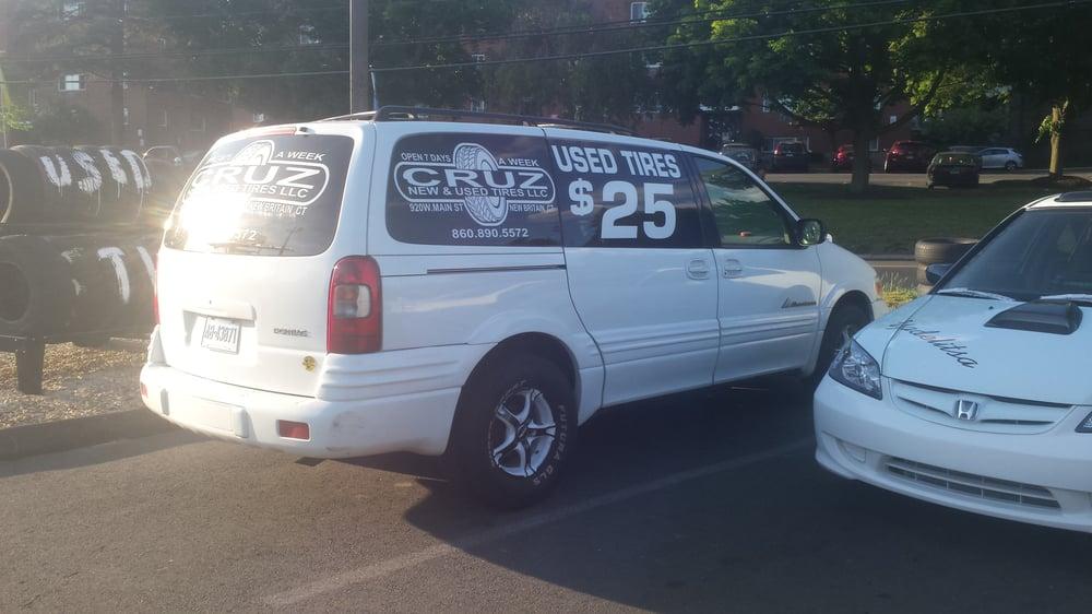 Cruz New & Used Tires: 920 West Main St, New Britain, CT