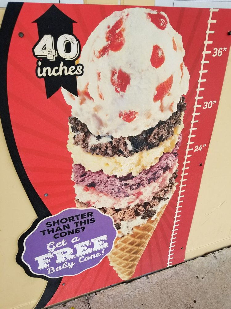 Bruster's Real Ice Cream: 5152 Calhoun Memorial Hwy, Easley, SC