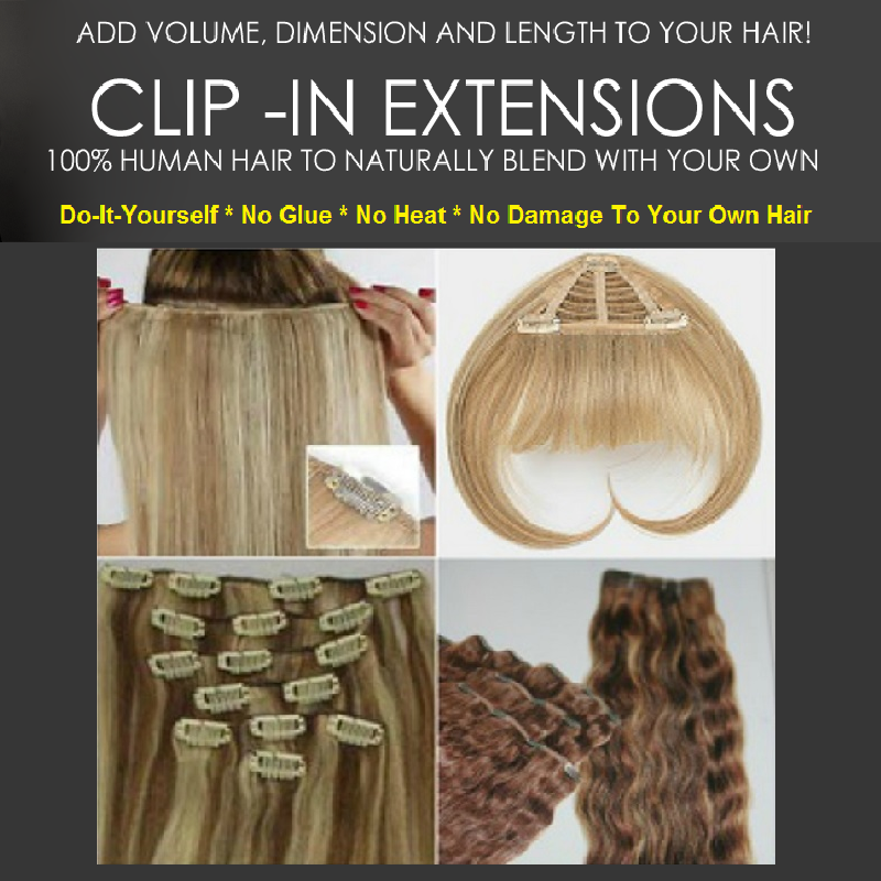 Do It Yourself Clip In Extensions Thehairextensionboutique