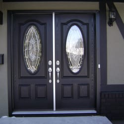 Photo of Alberta AAA Pro Painting u0026 Woodwork Finishing - Calgary AB Canada. Residential Front Doors & Alberta AAA Pro Painting u0026 Woodwork Finishing - 16 Photos - Painters ...