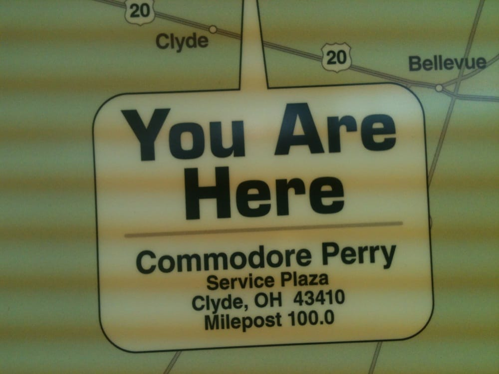 Commodore Perry Service Plaza: Clyde, OH