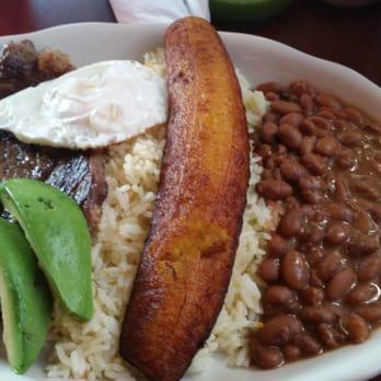 Photo Of Tu Casa Salvadorena Restaurant Portland Me United States Plato Montanero