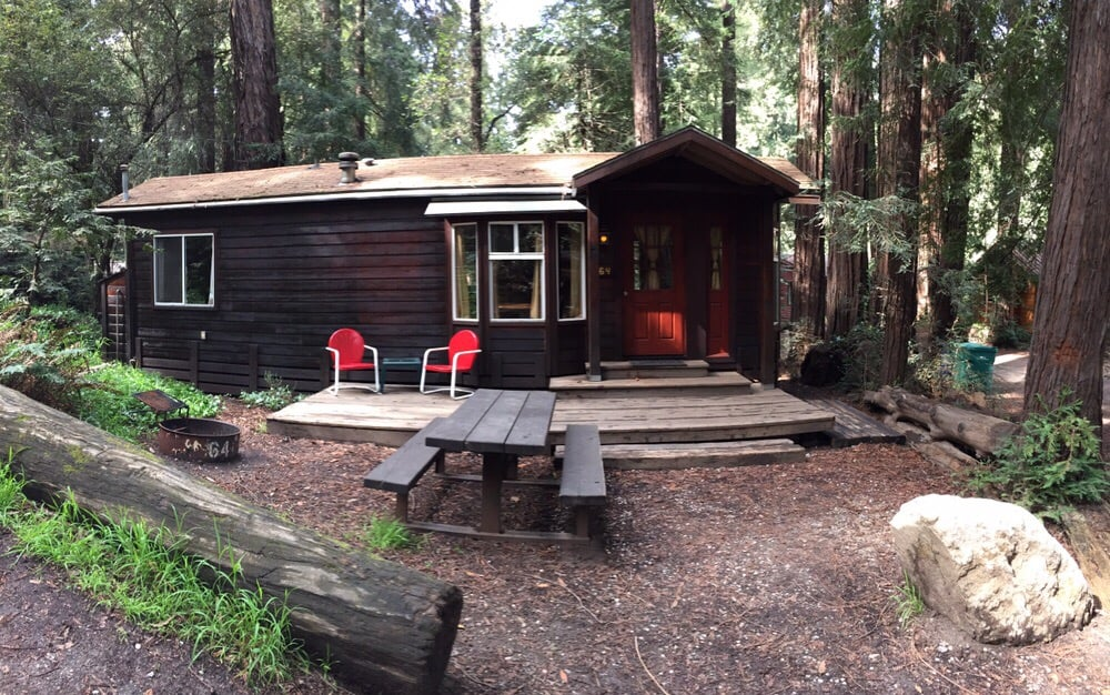 Cabin 64 yelp for Big sur campground and cabins