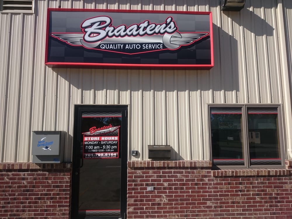 Braaten's Quality Auto Service: 210 N Washington St, Grand Forks, ND