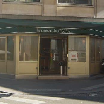 La maison du caviar sp cialit s culinaires 1 rue - Maison du caviar paris ...