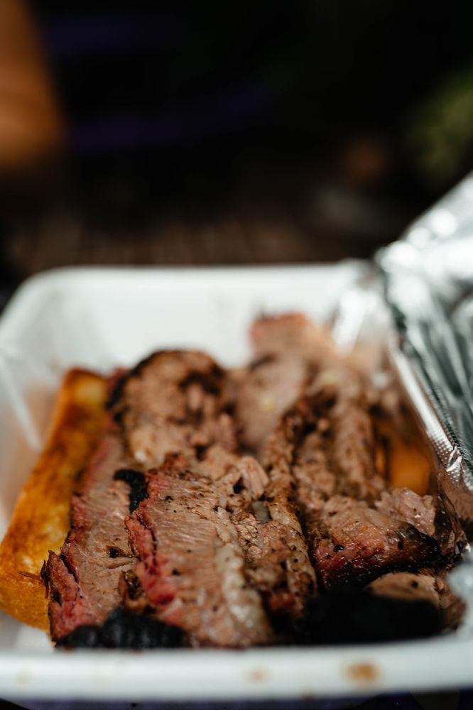 Food from Wicked Oak Barbeque