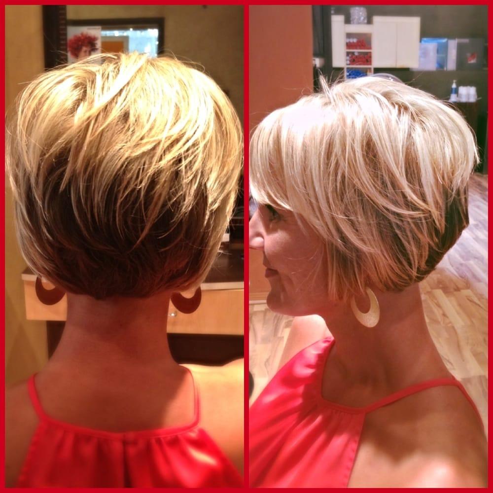 Blonde Highlights With Short Bob Cut By Taryn Yelp