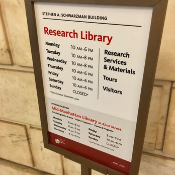 New York Public Library - (New) 2696 Photos & 873 Reviews