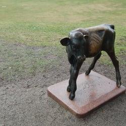 ilaparken oslo kart Statue: Kalven i Ilaparken   Local Flavor   Iladalen, St  ilaparken oslo kart