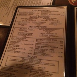 photo of pappadeaux seafood kitchen phoenix az united states menu - Pappadeaux Seafood Kitchen Menu