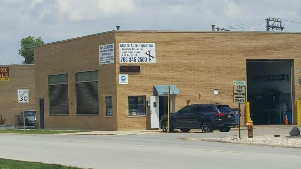 Marts Auto Repair: 1601 N 25th Ave, Melrose Park, IL