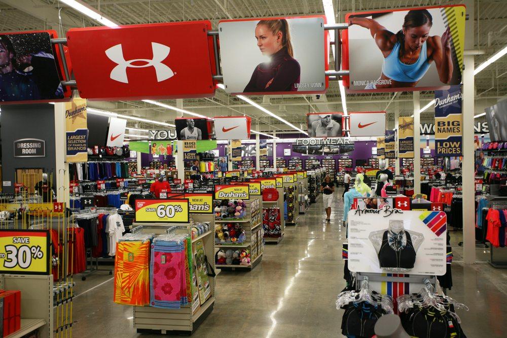 Dunham's Sports: 1296 Mt Vernon, Marion, OH