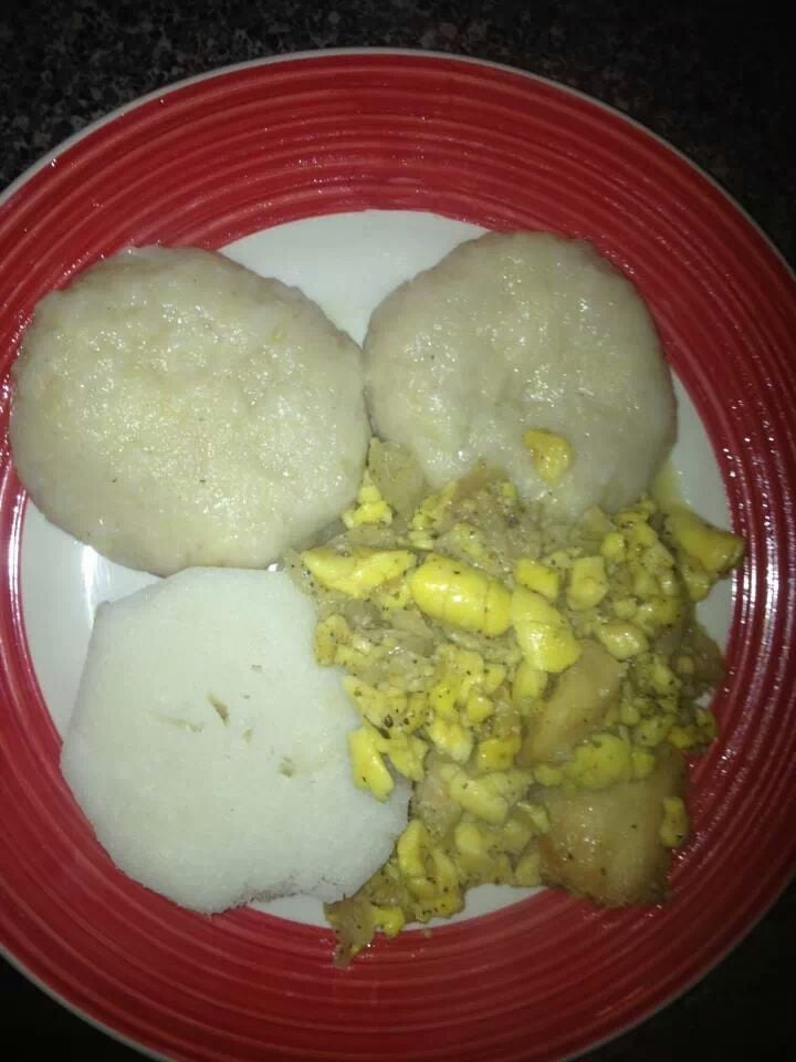 Ackee and salt cod fish with boiled dumplings yelp for Salted cod fish near me
