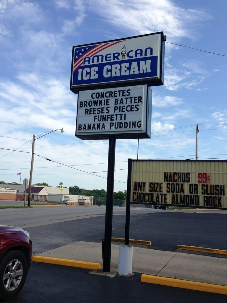 American Ice Cream & More: 221 S Hope St, Jackson, MO