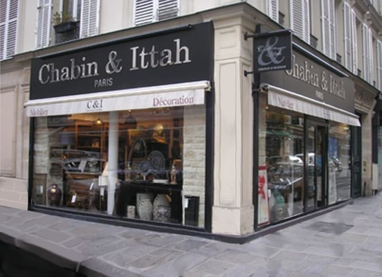 Chabin ittah home decor 8 rue castellane saint for Boutique decoration paris