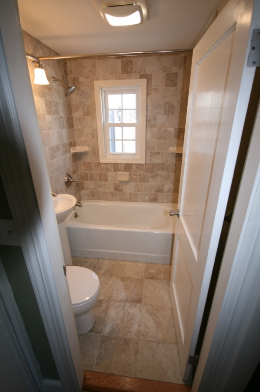 Full Bathroom Remodel W New Fixtures Tile Amp Simonton