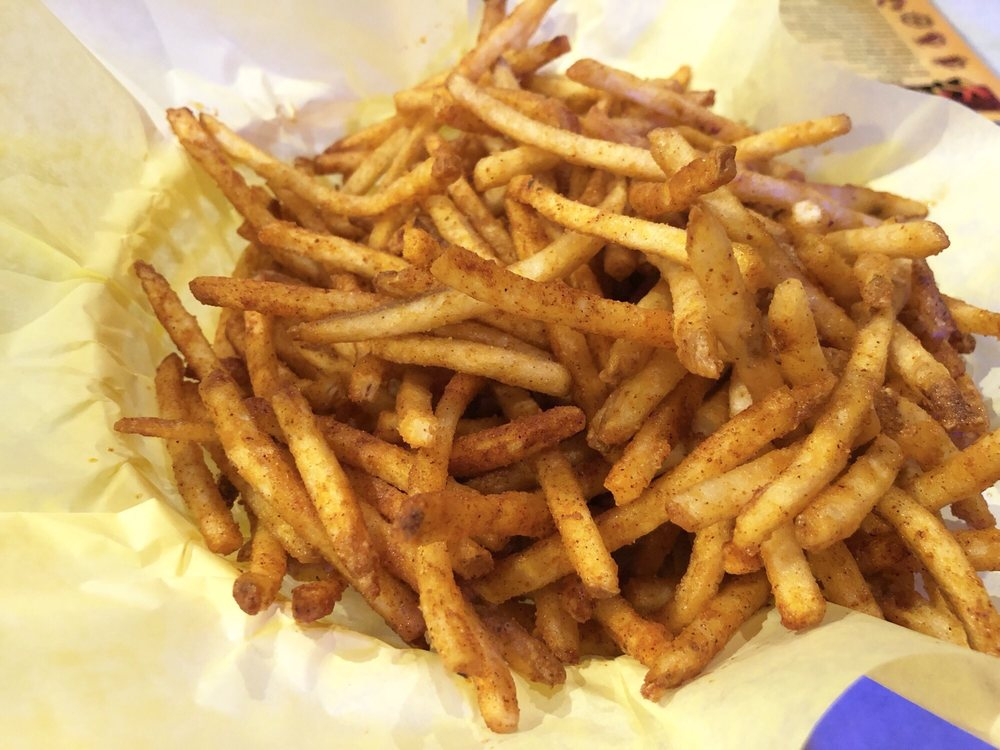 Photo of The Kickin' Crab - Westminster, CA, United States. Cajun Fries - Super thin