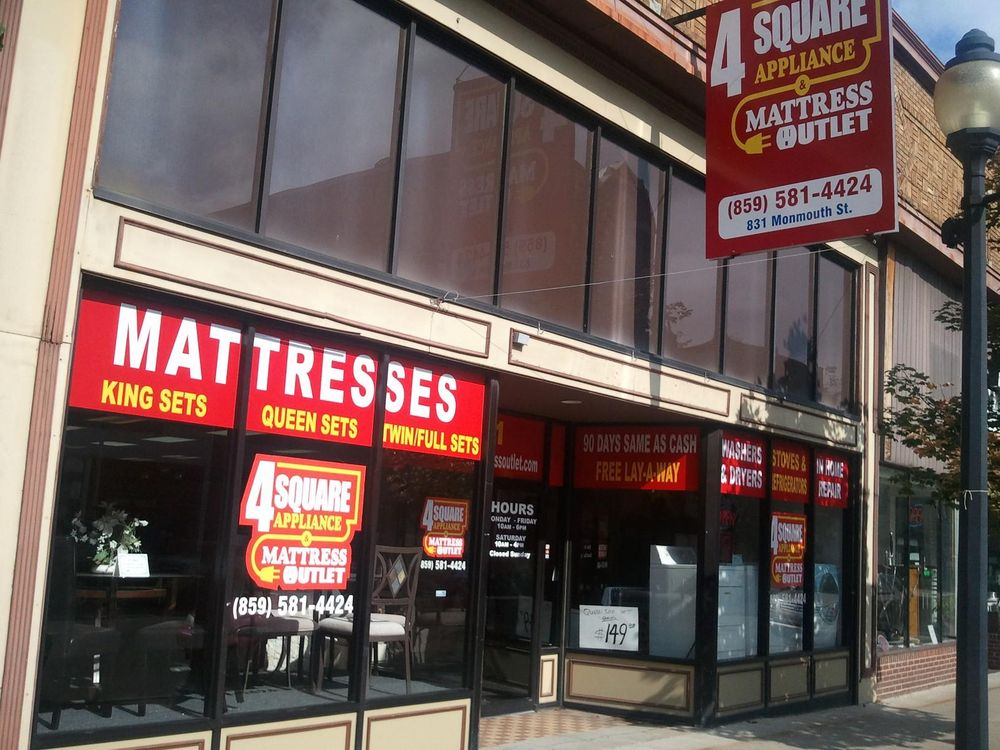 4 Square Appliance & Mattress: 831 Monmouth St, Newport, KY