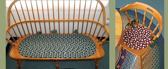 Photo Of Cape Cod Braided Rug Company Harwich Ma United States Chair