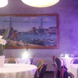 Restaurant Chez Loury - Marseille, France. The interior