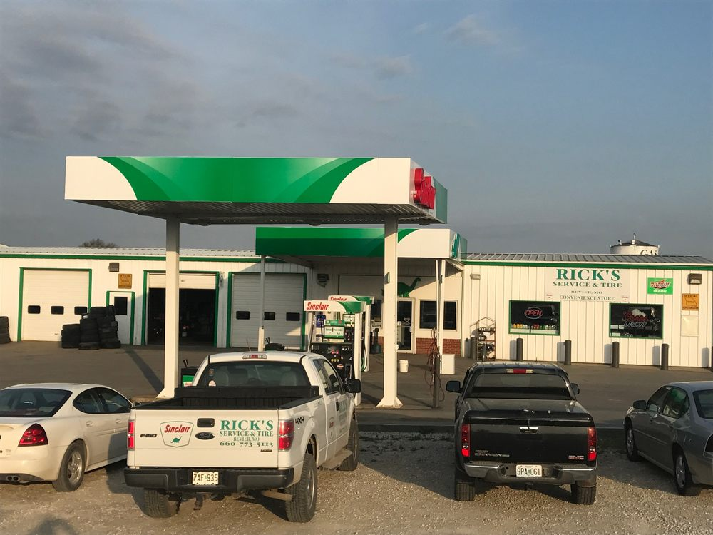 Rick's Service & Tire: 954 N Macon St, Bevier, MO