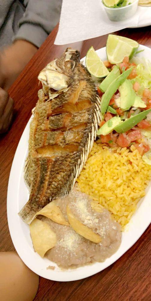 Food from Garibaldi Mexican Restaurant