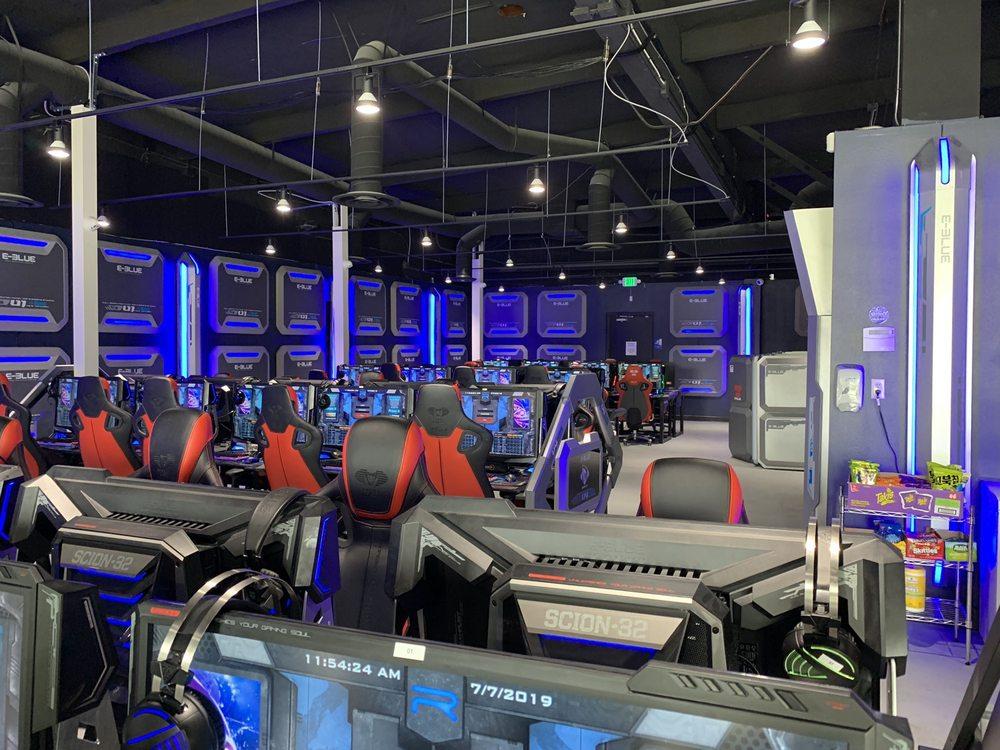 Reboot Esports Lounge: 1847 N Euclid St, Fullerton, CA