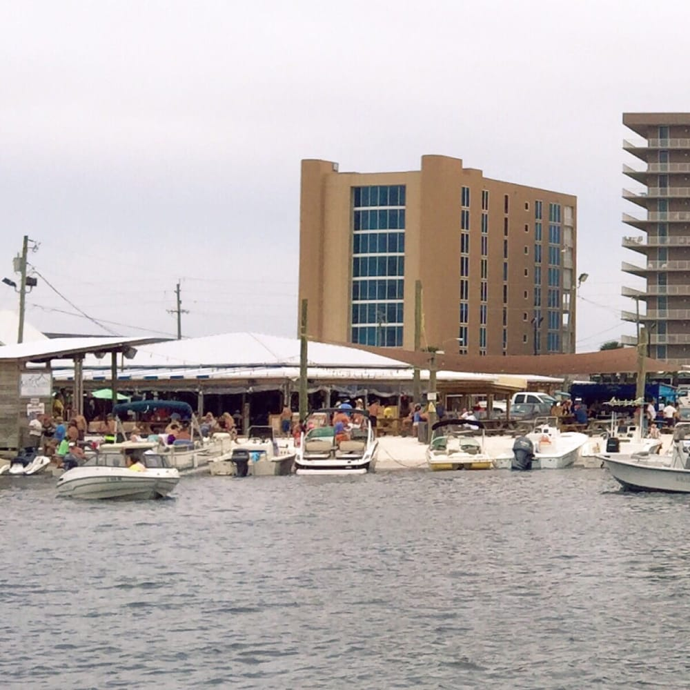 Perdido Key Restaurants: Had A Tough Time Finding A Spot For Our Boat.