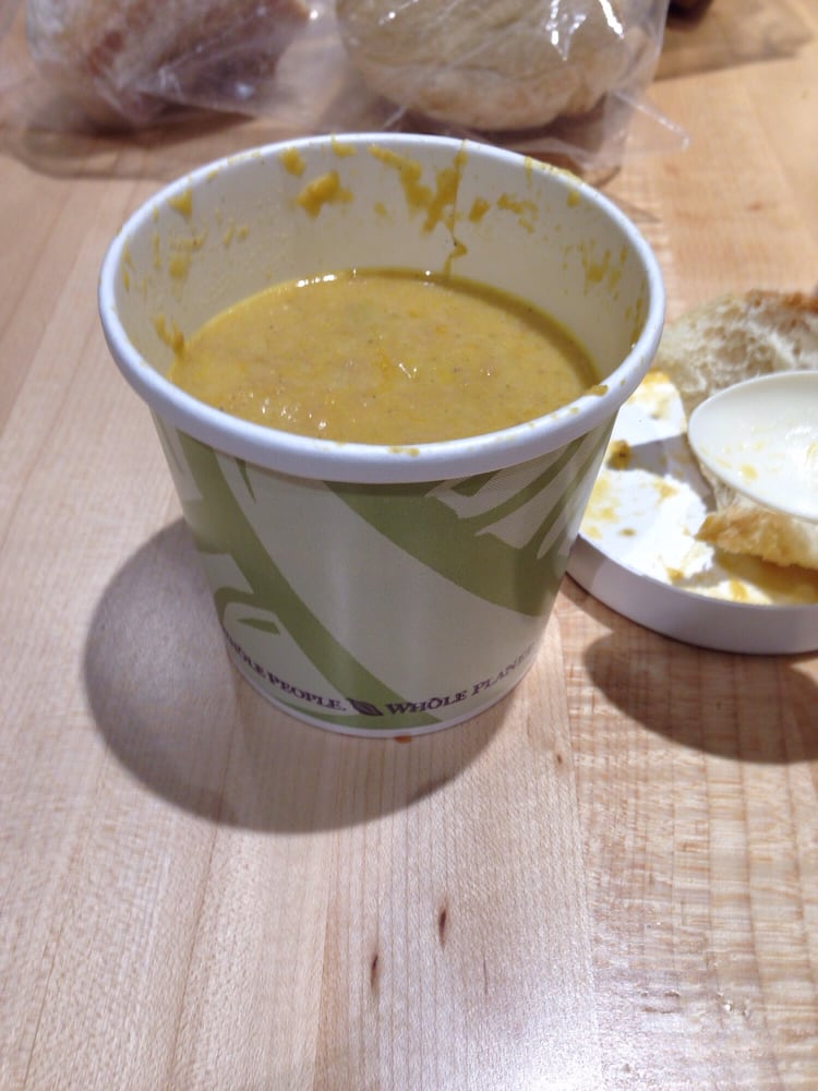 Whole Foods Butternut Squash Bisque