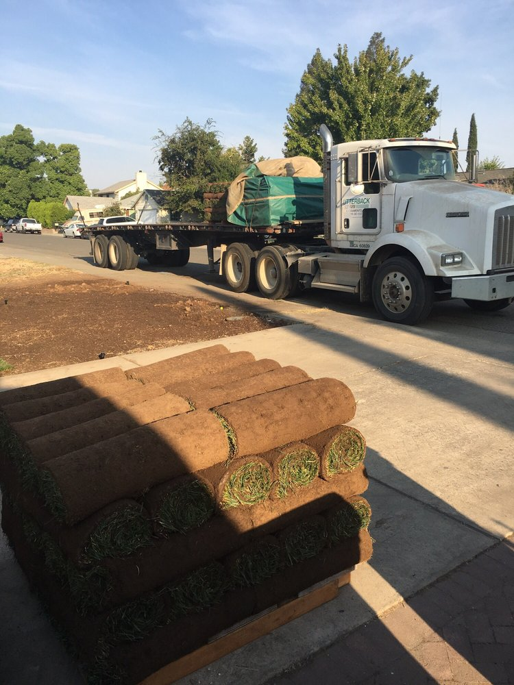 1 roll = 10 sq feet  10 rolls of sod in each layer meaning 100 sq