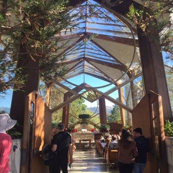 photo of wayfarers chapel rancho palos verdes ca united states sunday service
