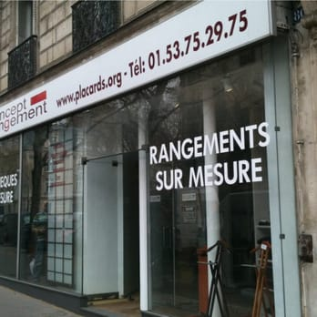 Concept rangement magasin de meuble 80 bld malesherbes for Meubles concept paris