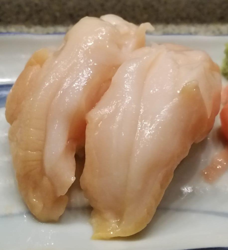 Omakase 10 - Giant Clam - Yelp  Giant