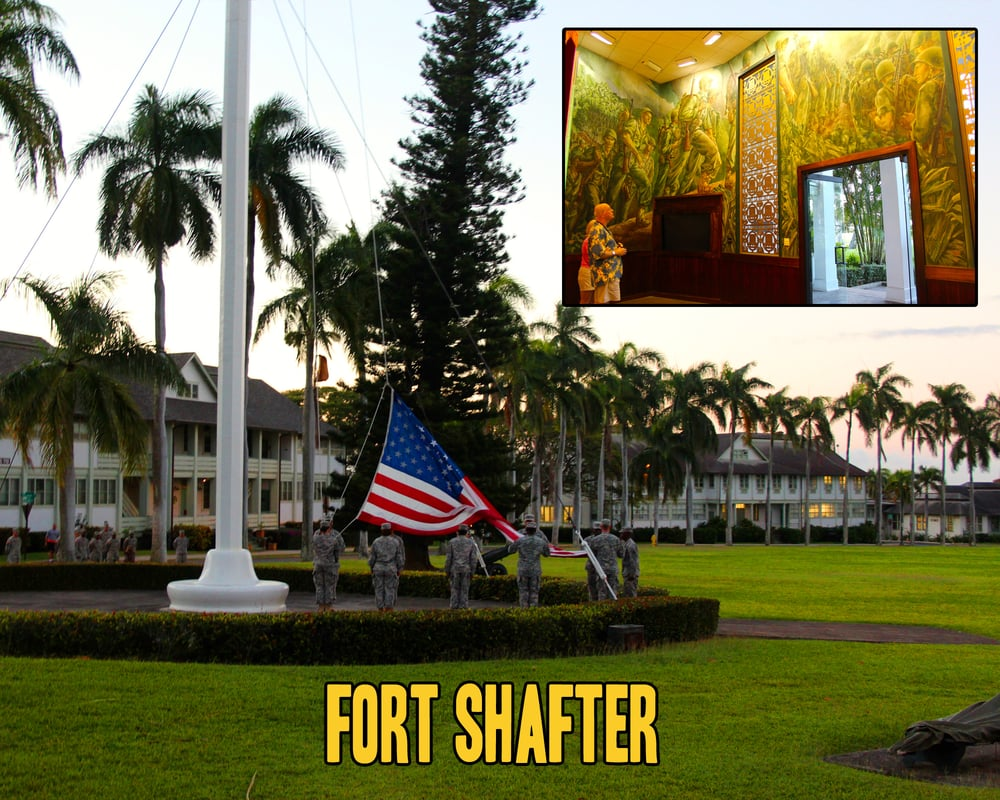 fort shafter Fort shafter is located in honolulu, on the south shore of the island of oahu fort shafter on-post temporary lodging is in fort shafter building 228b and tripler army medical center the closest hotels are southwest of fort shafter, near i-h1, across from the honolulu airport.