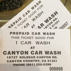 Canyon Car Wash Santa Clarita Ca
