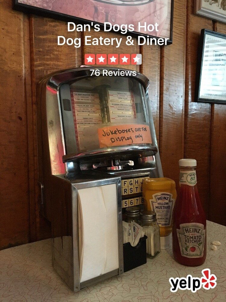 Photos For Dans Dogs Hot Dog Eatery Diner Yelp