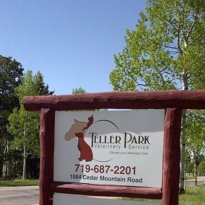 Teller Park Veterinary Service: 1084 Cedar Mountain Rd, Divide, CO
