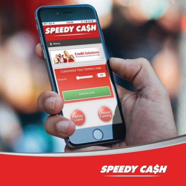 Speedy Cash Payday Loans Advances