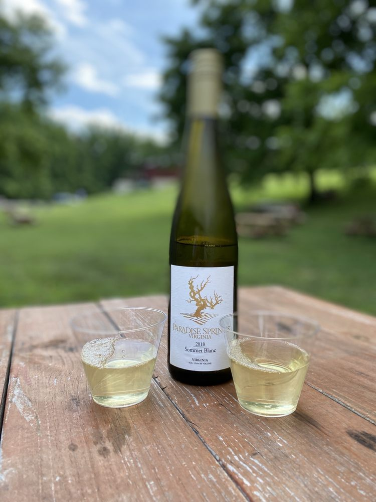 Paradise Springs Winery: 13219 Yates Ford Rd, Clifton, VA